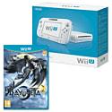 White Wii U Basic with Bayonetta 2