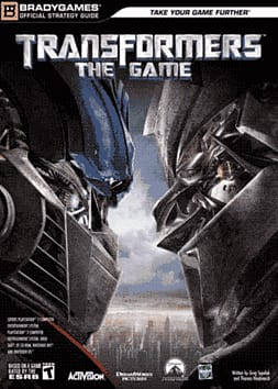Transformers: The Game Strategy GuideStrategy Guides & Books