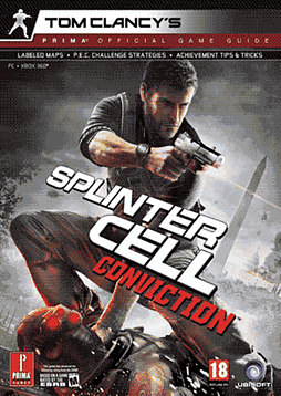 Splinter Cell Conviction Strategy GuideStrategy Guides & Books