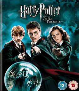 Harry Potter and the Order of the PhoenixBlu-ray