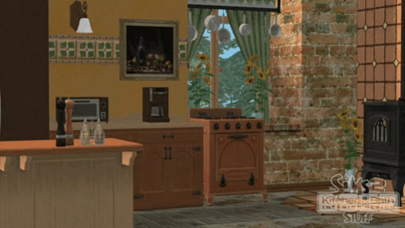 Buy The Sims 2 Kitchen Bathroom Interior Design Stuff on PC Free