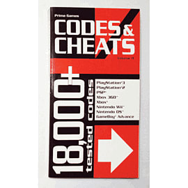 Codes & Cheats Vol 11Strategy Guides & Books