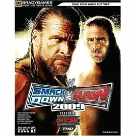 WWE Smackdown vs Raw 09 Signature Strategy GuideStrategy Guides & Books