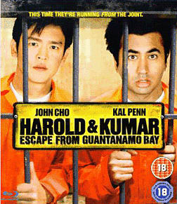 Harold & Kumar Escape from Guantanamo BayBlu-ray