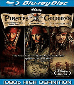 Pirates of the Caribbean: Trilogy Boxset (Blu-ray)Blu-ray