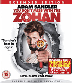 You Don't Mess with the ZohanBlu-ray