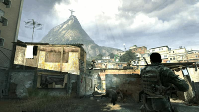 Visually stunning combat in Call of Duty Modern Warfare 2 on Xbox 360, PS3 and PC at GAME