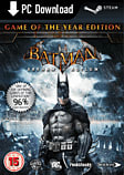Batman: Arkham Asylum Game of the Year Edition PC Games