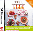 1000 Cooking Recipes from Elle A Table DSi and DS Lite