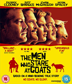 The Men Who Stare At GoatsBlu-ray