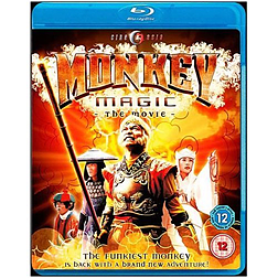 Monkey Magic The MovieBlu-ray