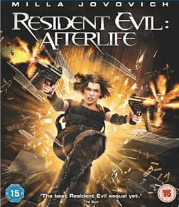 Resident Evil AfterlifeBlu-ray