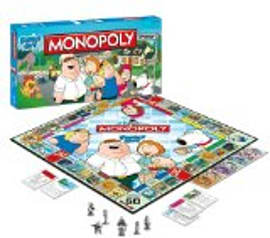 Family Guy MonopolyPuzzles and Board Games