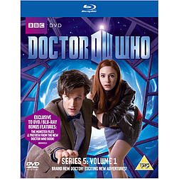 Dr Who Series 5 Part 1Blu-ray