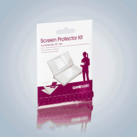 GAMEware DS Screen Protector and Cloth Accessories