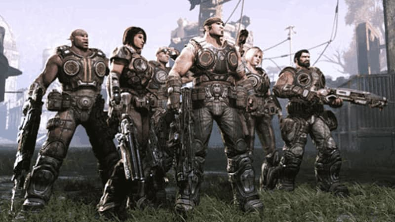 Gears of War 3 - The gang's all here!
