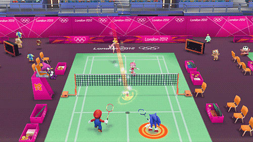 mario and sonic at the olympic games 2012 wii