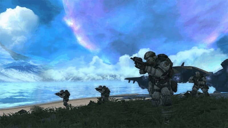 Buy halo combat evolved anniversary on xbox 360 free uk halo combat evolved anniversary sciox Images