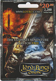 Lord of the Rings Online £20 Gift CardToys and Gadgets