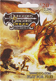 Dungeons & Dragons Online £20 Gift CardToys and Gadgets
