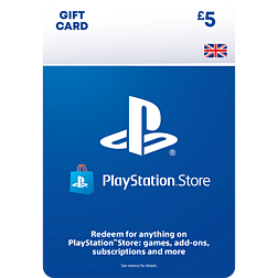£5 PlayStation Network Wallet Top Up for PS3