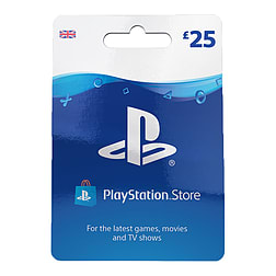 £25 PlayStation Network Wallet Top Up for PS3