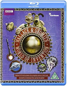 Wallace and Gromit's World of InventionBlu-ray