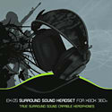 Gioteck EX-05 Wired Stereo Headset for Xbox 360 Accessories