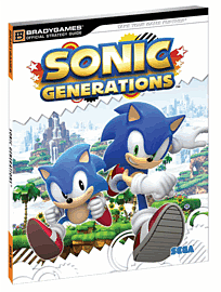 Sonic Generations Official Strategy GuideStrategy Guides & Books