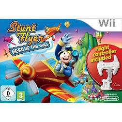 Stunt Flyer Hero of the Sky with FlightstickWiiCover Art