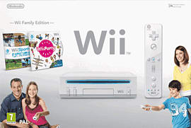 White Wii Party Pack Wii