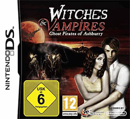 Witches and Vampires: Ghost Pirates of Ashburry for NDS