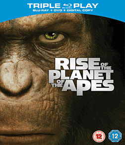 Rise of the Planet of the ApesBlu-ray