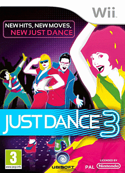 Image result for just dance 3 poster