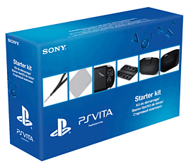 PS Vita Starter Kit Accessories