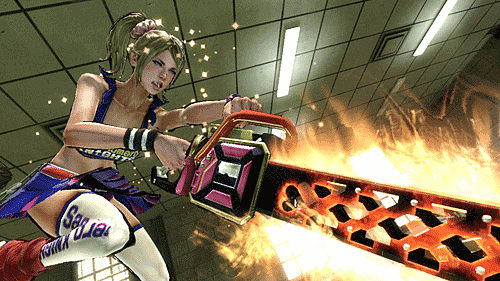 Zombies v Cheerleaders in Lollipop Chainsaw at GAME