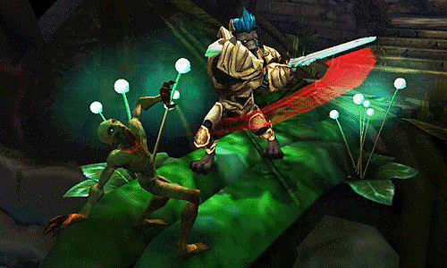 Online gameplay is the hero of Heroes of Ruin on 3DS