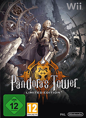 Wii-exclusive RPG Pandora's Tower Limted Edition, out now at GAME