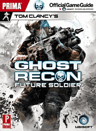 Tom Clancy's Ghost Recon Future Soldier Official Game GuideStrategy Guides & Books