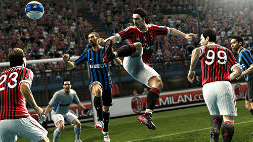 Passing, shooting and defending improvements in PES 2013 at GAME for Xbox 360, PlayStation 3 and PC