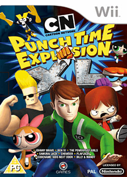 Cartoon Network: Punch Time Explosion XLWii