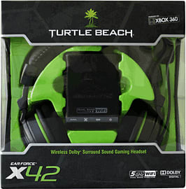 Turtle Beach Ear Force X42 Wireless HeadsetAccessories