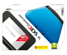 Nintendo 3DS XL Blue 3DS