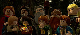LEGO Lord of the Rings screen shot 2