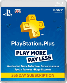 Playstation Network Plus 12 Month Subscription Accessories