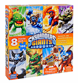 Skylanders 8-in-1 Jigsaw Puzzle PackToys and Gadgets
