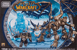 World of Warcraft Mega Bloks: Sindragosa and The Lich KingToys and Gadgets