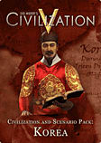 Sid Meier's Civilization V: Civilization and Scenario Pack – Korea (Mac) Mac