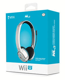 Turtle Beach Ear Force NLA Headset for Wii U - White Accessories