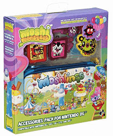 Moshi Monsters Moshling 6 in 1 Accessory Pack for Nintendo 3DS Accessories